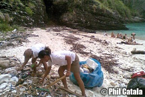 Beach cleaning