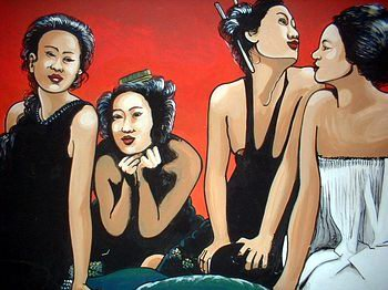 Bobol Painting Thai Girls
