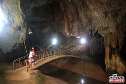 Cave at Wat Tham Ta Pan in Phang Nga Town