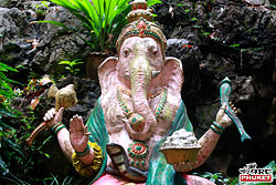 Ganesh Statue at Wat Tham Ta Pan